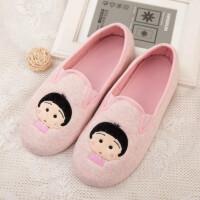 月子鞋 春秋产后软底家居包跟冬季棉拖鞋孕产妇坐月子鞋防水防滑