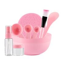 美妆6件装面膜碗套装diy面膜工具自制面膜棒压缩面膜刷美容工具