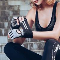 健身手套女男运动护腕器械训练单杠锻炼撸铁引体向上半指防滑透气