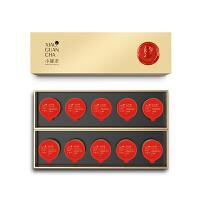 小罐茶 特级乌龙茶武夷岩茶大红袍茶叶礼盒装 40g 顺丰包邮