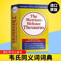 正版 韦氏同义词词典 英文原版 The Merriam Webster Thesaurus 英文版 麦林韦氏同义词辞典