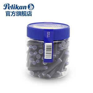 德国进口Pelikan百利金旗舰店4001瓶装墨水胆100支装非碳素钢笔墨水墨囊墨胆