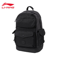 李宁双肩包男包新款运动时尚系列背包书包学生运动包ABSN079