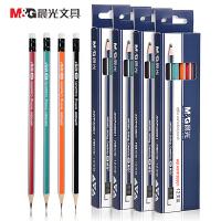 晨光文具 晨光三角形笔杆HB木质铅笔AWP30901 适合低年级矫正握姿