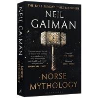 正版现货 北欧神话 尼尔盖曼 英文原版 Norse Mythology Neil Gaiman 诸神的黄昏 Ameri