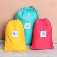 纳彩旅行收纳袋/幸运袋(L号)--粉色