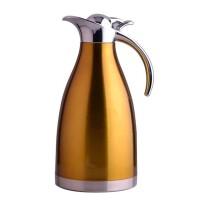 2L不锈钢内胆家用热水瓶保温壶欧式咖啡壶开水瓶暖瓶家用热水瓶大容量保温瓶暖水壶开水瓶欧式2升