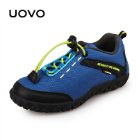 【69元2双】UOVO2019新款童鞋儿童运动鞋男童运动鞋女童鞋休闲鞋运动轻便网布时尚透气 大堡礁