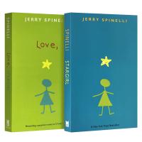 现货正版 Stargirl Love Stargirl 星星女孩 爱 英文原版青春小说2本 纽伯瑞文学奖作者 杰瑞史宾尼