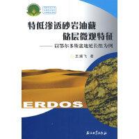 特低渗透砂岩油藏储层微观特征:以鄂尔多斯盆地延长组为例