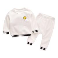 宝宝衣服春季2018新款女童装春装新生儿休闲两件套男婴儿套装春秋