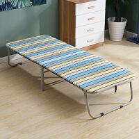 家用折叠单人床午休办公室陪护床简易便携行军床经济型午睡硬板床