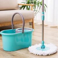 居家家旋转拖把套装免手洗地拖布家用自动脱水拖把桶懒人拖地墩布