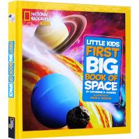 正版 Little Kids First Big Book of Space 英文原版 宇宙太空系列 National
