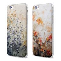 【全国包邮】hidog 苹果iPhone6手机壳4.7浮雕6plus保护套软硅胶5s碎花外壳女