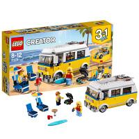 【当当自营】乐高(LEGO)积木 创意百变组Creator 玩具礼物 阳光海滩房车 31079