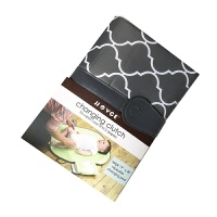 婴儿尿布 男女婴儿创意便携垫储物可折叠防水宝宝隔尿垫 灰色