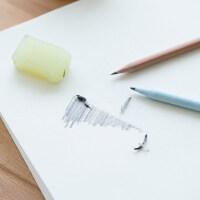 铅画纸a4速写本a3素描纸美术水彩纸水粉纸画画纸本色批发