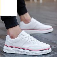 新品 休闲鞋男鞋时尚小青年厚底加高4CM松糕情侣鞋春夏季透气款运动小白鞋男女