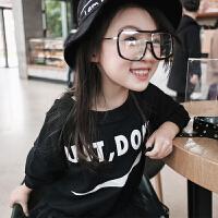 女童打底衫 春装2018新款韩版休闲小朋友宝宝长袖上衣儿童卫衣