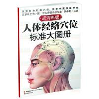 人体经络穴位标准大图册(一本人体经络穴位地图,准确定位,易学速查)