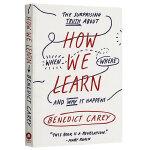 现货正版 How We Learn 英文原版 我们如何学习 全视角学习理论 英文版进口英语书籍
