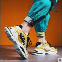 ins超火的鞋子男韩版潮流男士内增高跑步鞋百搭学生运动休闲潮鞋户外新品网红同款