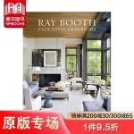 包邮Ray Booth,雷布斯:令人思绪驰骋的室内设计 英文原版