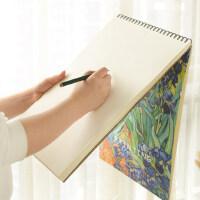 A3素描本绘画速写纸八开空白画纸手绘8k学生用图画本8开成人大号美术彩铅本厚