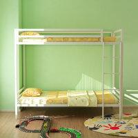 上下铺床1.2米铁床双层学生宿舍员工子母高低金属床铁架床 1200mm*2000mm