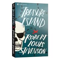 现货正版 金银岛 英文原版 Treasure Island 世界名著 史蒂文森 全英文版进口海盗小说英语书籍