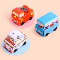 小猪佩奇 儿童玩具车 3-6岁男孩可变形仿真惯性模型圣诞节生日礼物 迷你变形小汽车 (家庭车/警车+校车/巴士+消防车