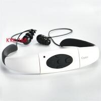 水下mp3 游泳防水MP3运动跑步潜水下游泳MP3头戴式播放器无线游泳蓝牙耳机 CX