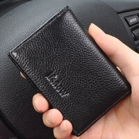 名片夹男士商务真皮卡包驾驶员证件包女大容量皮质创意名片包