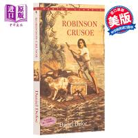 【中商原版】英文原版Robinson Crusoe鲁滨逊漂流记 经典名著 Bantam Classic 青少年读物