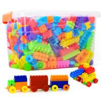 儿童塑料积木玩具1-2幼儿园益智模型拼装拼插legao男孩女孩3-6岁