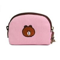 少女零钱包韩国创意可爱小布包拉链卡通布艺小钱包迷你帆布零钱袋