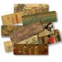 中国传世十大名画书签唐诗古画元素送学生用朋友老外礼品故宫收藏