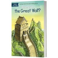 长城在哪里 英文版原版 Where Is the Great Wall? 英文原版儿童桥梁章节书 中小学生读物 现货正