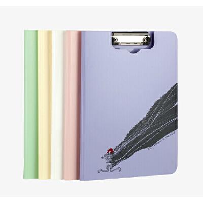 树德文具Y1099 小红帽 韩国文件夹 资料夹/A4板夹/试卷夹 A4夹 正品树德文件 文件整理助手