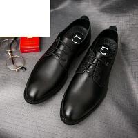 CUM新品男士皮鞋商务休闲皮鞋系带英伦正装男鞋冬季小皮鞋