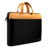 笔记本包电脑包苹果15英寸Air13小米12内胆包男手提皮