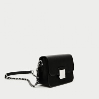 201za8新款同款韩版ra女包迷你斜挎单肩百搭手提黑色小方包