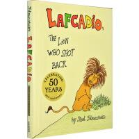 Lafcadio, the Lion Who Shot Back 一只会开枪的狮子 英文原版精装绘本 谢尔・希尔弗斯