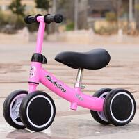 儿童平衡车1-3岁宝宝滑行车溜溜车婴儿助步车玩具扭扭车生日礼物 粉色+升级款 (普通座椅)