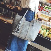 款时尚女包 复古流苏单肩大包包大容量女士手提包
