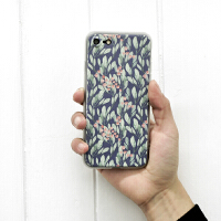 新品 �有� 水彩植物 iphone手机壳 可爱文艺 苹果7保护套