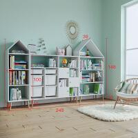 实木书架绘本架置物架落地卧室家用学生收纳省空间大容量