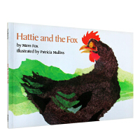 顺丰发货 美国图书馆协会推荐图书 Hattie and the Fox 哈蒂和狐狸 廖彩杏推荐让重复句当家 大声朗读 英文原版绘本 送音频