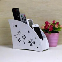 收纳盒遥控器盒子收纳架子壁挂式挂墙上的电视9机家用放摇控挂壁